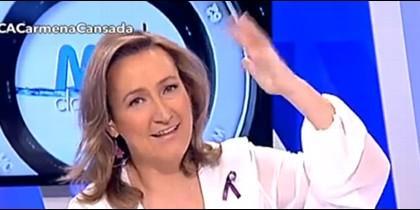 Isabel Durán, presentadora de 'Más claro agua'.