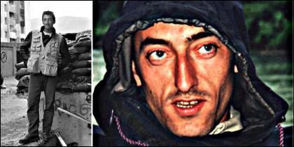 Miguel Gil a su llegada a la antigua Yugoslavia y ya como experimentado camarógrafo.