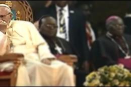 El Papa, con los catequistas ugandeses