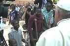 El Papa, en el campo de refugiados de Bangui