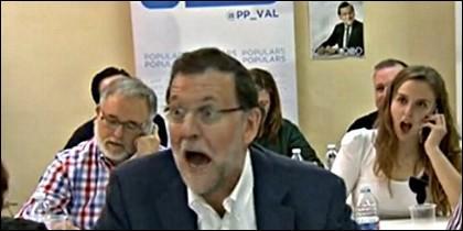 La sorpresa de Mariano Rajoy.