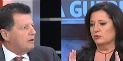 Alfonso Rojo y Mari Pau Domínguez.