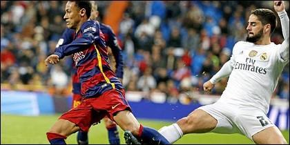 Isco y Neymar.