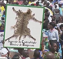 Regalo de Bangassou al Papa