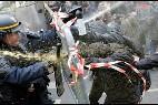 Enfrentamientos en París