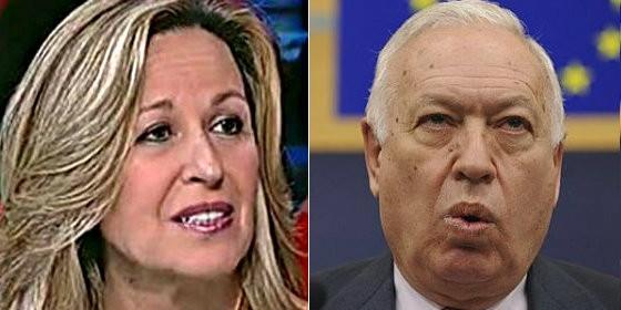 Trinidad Jiménez y José Manuel García-Margallo.