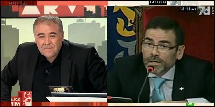 Antonio García Ferreras y José López.
