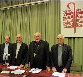 Los obispos argentinos