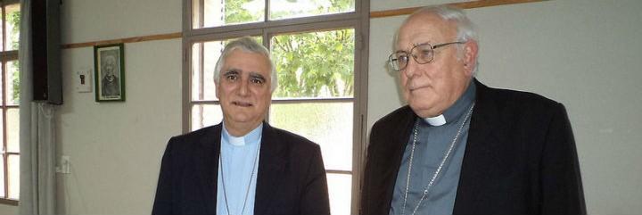Monseñor Lozano y monseñor Arancedo