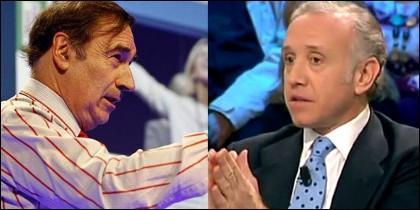Pedrojota Ramírez y Eduardo Inda.