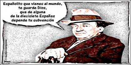 Autonomías, separatismo, nacionalismo y subvención.