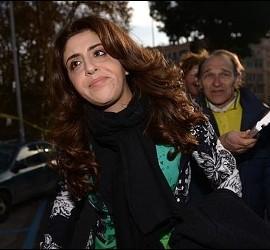 Francesca Chaouqui, a la entrada al juicio