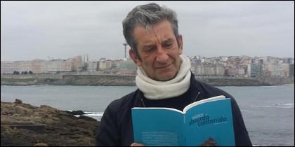Manuel Guisande, autor de 'Relatos de absurdo contenido'.