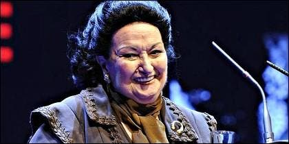 Montserrat Caballé.