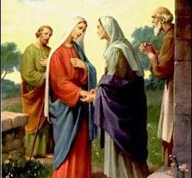 El encuentro de Isabel y María
