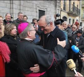 El nuevo obispo de Astorga, en su visita a Ponferrada