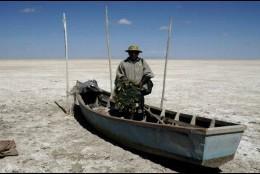 Un lago convertido en un desierto, es lo que le sucedió al Poopó