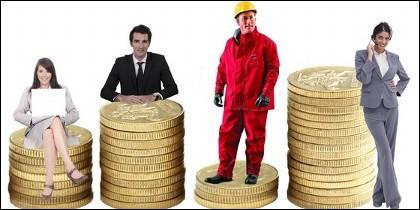 Sueldo, salario, empleo, trabajo, productividad.