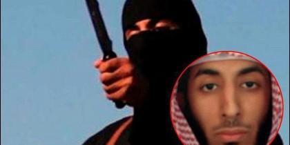"""Mohamed Emwasi, conocido como el """"Yihadista John"""", uno de los Beatles que torturaba a los periodistas occidentales secuestrados por el DAESH."""