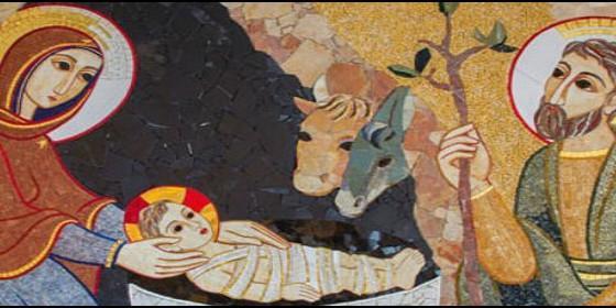 La Madonna. E molti dipinti sulla Natività da Samael. Portal-rupnik_560x280