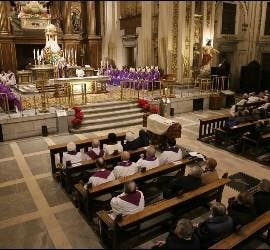 Funeral de Alberto Iniesta