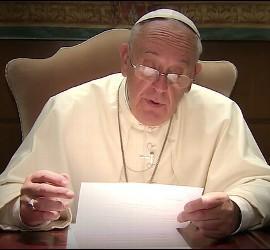 Videomensaje del Papa sobre las religiones