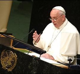 Histórico discurso de Francisco en la ONU