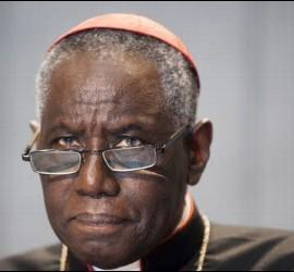 Cardenal Robert Sarah, Prefecto del Culto Divino