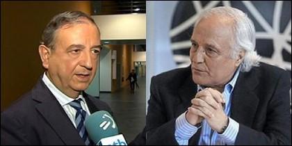 Iñaki Anasagasti y Raúl del Pozo.