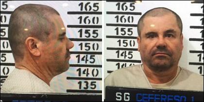 Ficha policial de 'El Chapo'