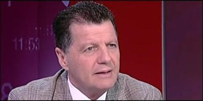 Alfonso Rojo, director de 'Periodista Digital, en el debate de 24Horas de TVE.