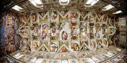 La capilla sixtina de Miguel Ángel