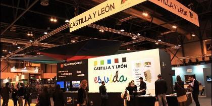 Stand Junta de Castilla y León en FITUR.