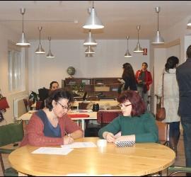 Espacio co-working, donde convergen distintos proyectos sociales