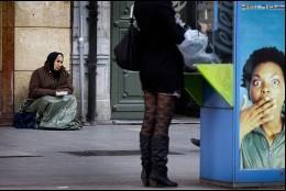Pobreza e indiferencia