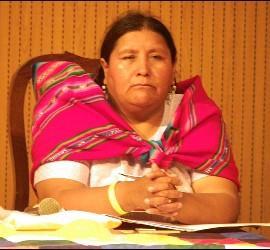 Rectora del Instituto Superior Ecuménico Indígena de Teología de La Paz