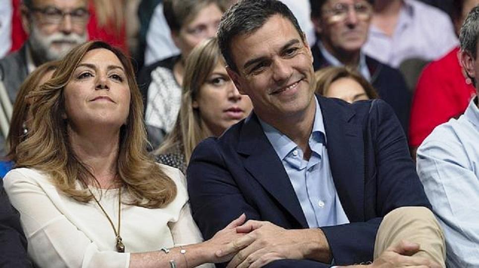 Resultado de imagen de Susana Díaz pone precio a la cabeza de Pedro Sánchez.