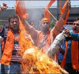 Otro acto violento del grupo Barjrang Dal