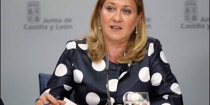 Pilar del Olmo, Consejera de Hacienda de la Junta de Castilla y León