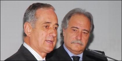 Juan Pedro Hernández Moltó e Ildefonso Ortega (CCM).