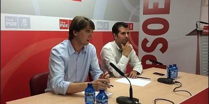 Carlos Martinez con Luis Tudanca