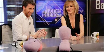 Pablo Motos y Susanna Griso.