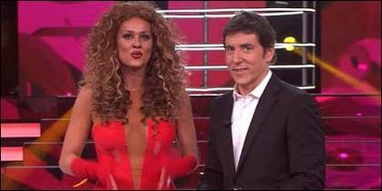 Lorena Gómez y Manel Fuentes.