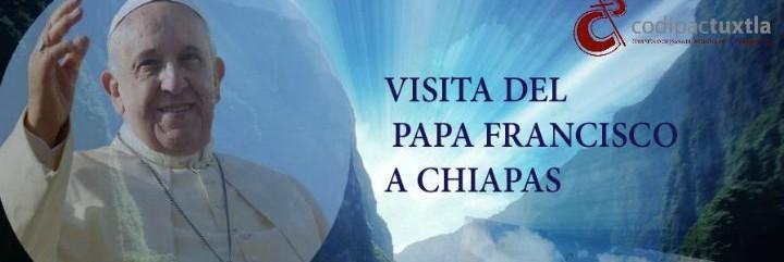 Chiapas espera al Papa