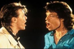 Bowie y Jagger