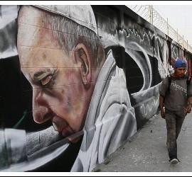 Pintadas del Papa en México