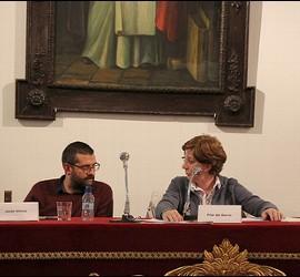 Un momento del congreso dominico en Sevilla