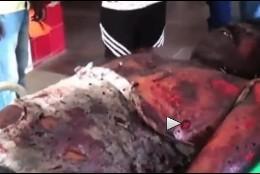 El chófer muerto por el meteorito