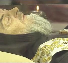 Los restos del Padre Pío en San Pedro