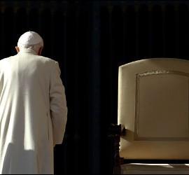 Renuncia de Ratzinger